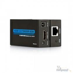 Extensor Hdmi 60 Metros X Rj45 Cat5e/cat-6 3d 1080p